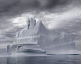 PA-1007-Groenland, Baie de Disko, Ilulissat, iceberg