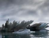 PA-2203-Groenland-Baie de Qaanaaq, iceberg